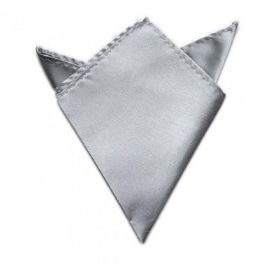 Pochette gris-argent