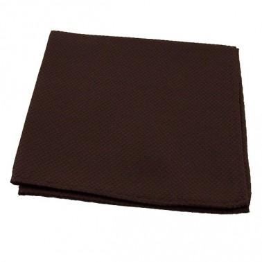 """Pochette tissée """"marron-cuivre"""""""