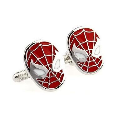 """Boutons de manchette """"Spiderman"""""""