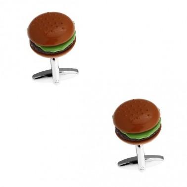 "Boutons de manchette ""Hamburger"""