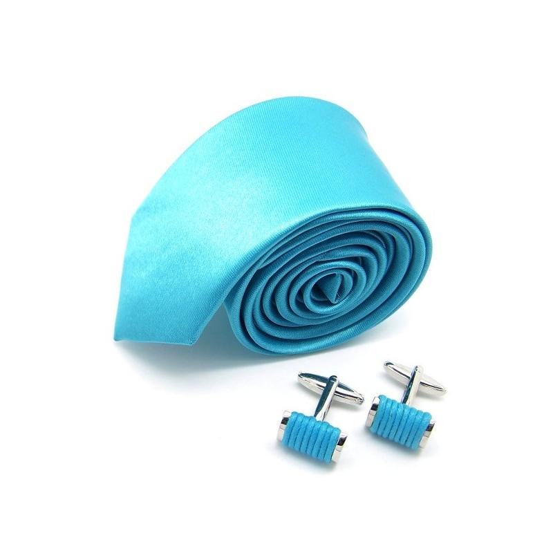 La slim turquoise et ses boutons