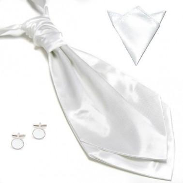 La lavallière blanche & ses accessoires