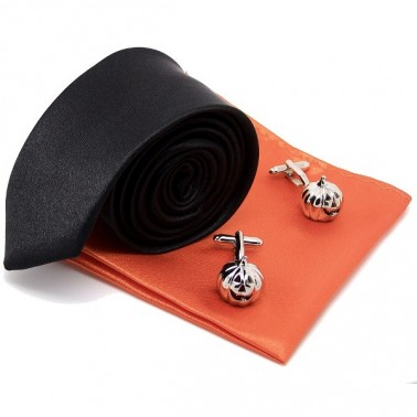 Ensemble cravate manchette Halloween Academy