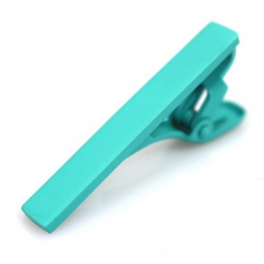 Pince cravate turquoise