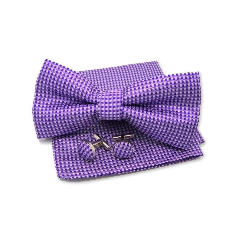 Ensemble couleur parme, mauve et violet