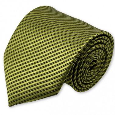 Cravate vert-kaki