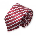 cravate fine couleur bordeaux