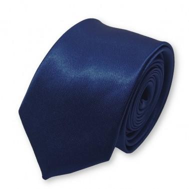 cravate slim bleu-marine