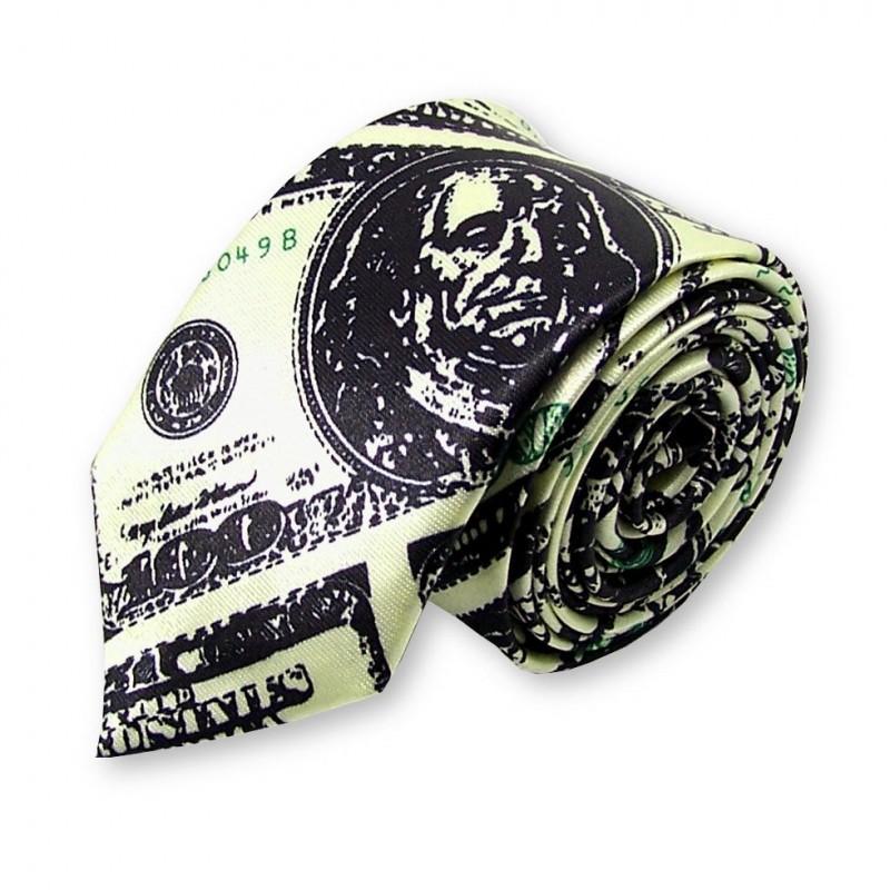 """cravate fine """"Dollar"""""""