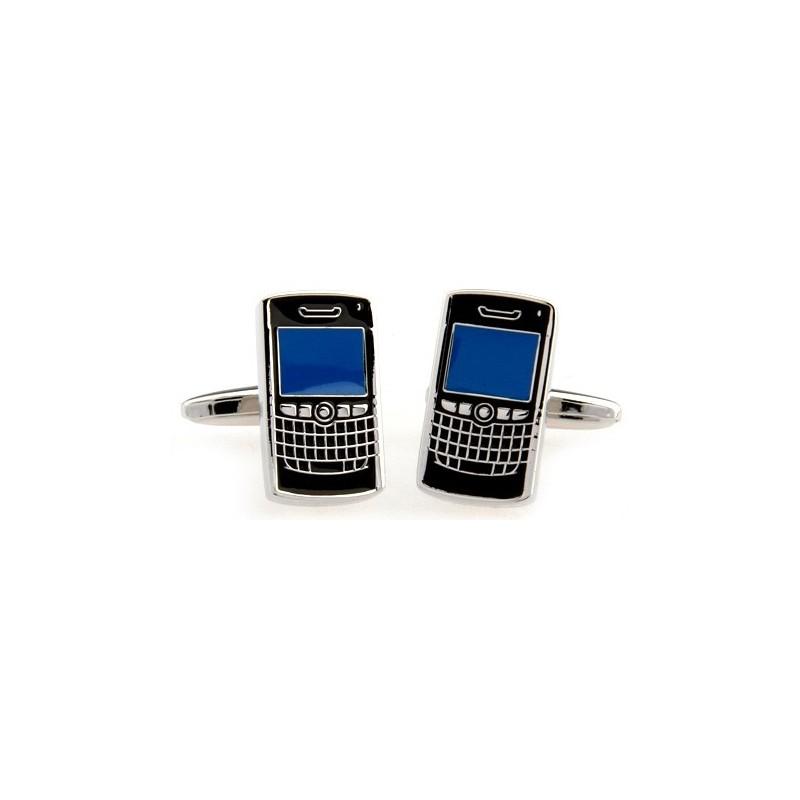 """Boutons de manchette """"BlackBerry"""""""
