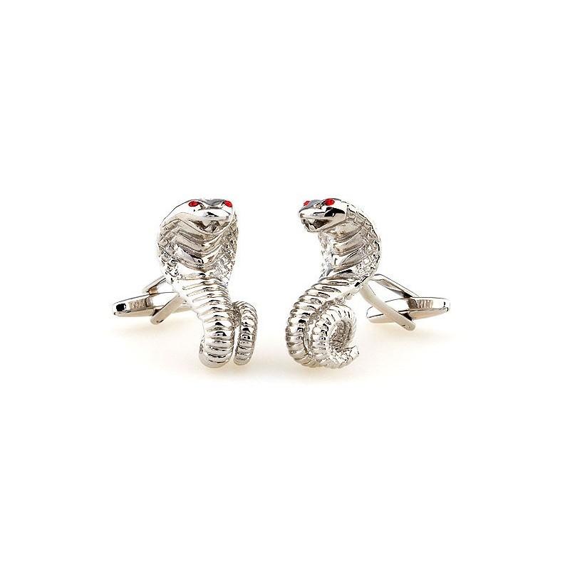 """Boutons de manchette """"Le Serpent"""""""
