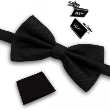 "Coffret noeud papillon ""James Bond"""