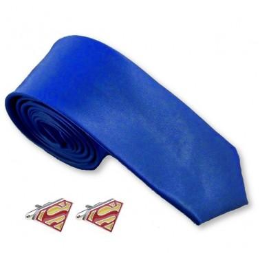 "Coffret cravate Superman ""Clark Kent"""