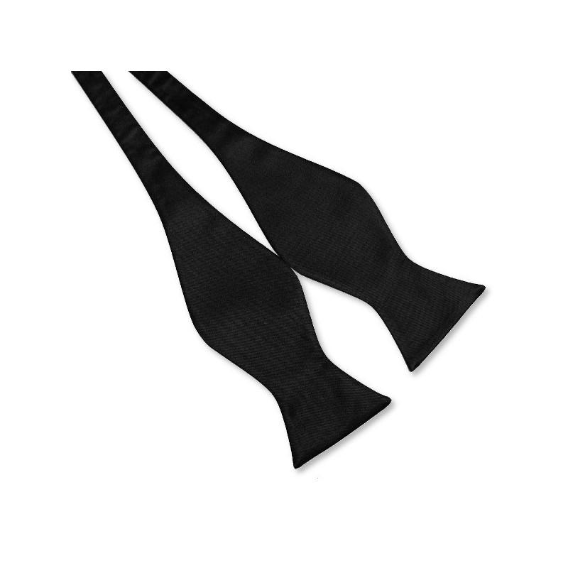 Noeud-papillon noir à nouer