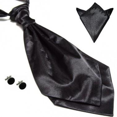 La lavallière noire & ses accessoires