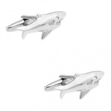 """Boutons de manchette """"le Requin"""""""