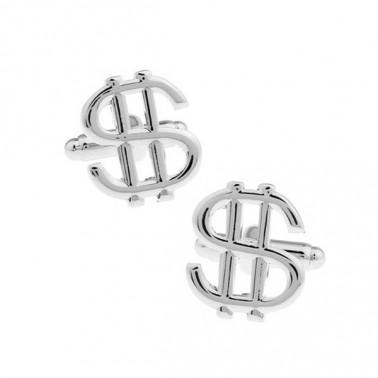 """Boutons de manchette """"Dollar"""""""