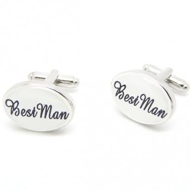 "Boutons de manchette ""Best Man"""