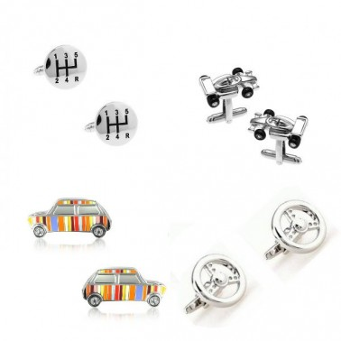 "La collection de boutons manchette ""Automobile"""
