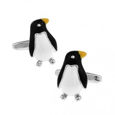 "Boutons de manchette ""pingouin"""