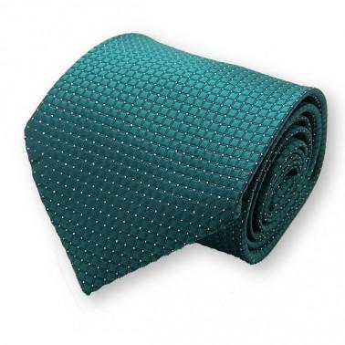 "cravate ""Green Highland"" Emeraude"