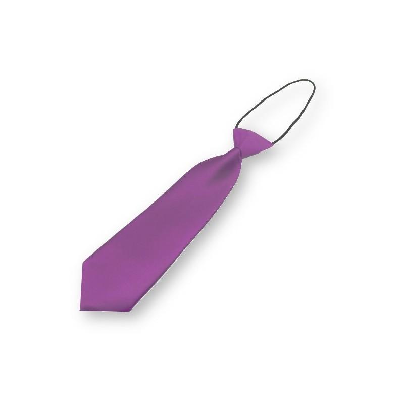 Cravate mauve pour garçon