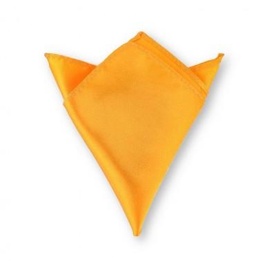 Pochette jaune-orangé