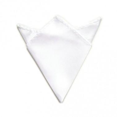 Pochette costume blanche