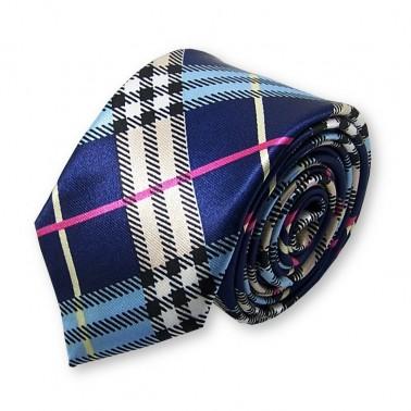 cravate slim écossaise