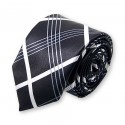 "cravate slim rayée ""type écossais"""