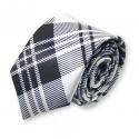 cravate slim, motifs écossais