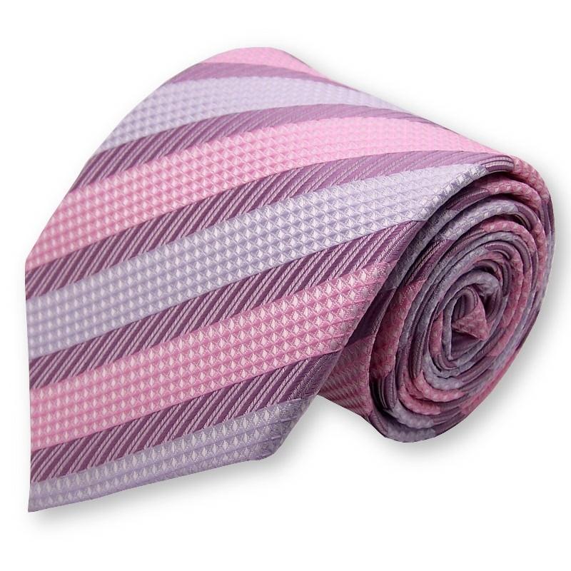 cravate mauve et parme label cravate. Black Bedroom Furniture Sets. Home Design Ideas