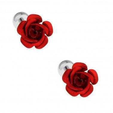 """Boutons de manchette """"la Rose"""""""