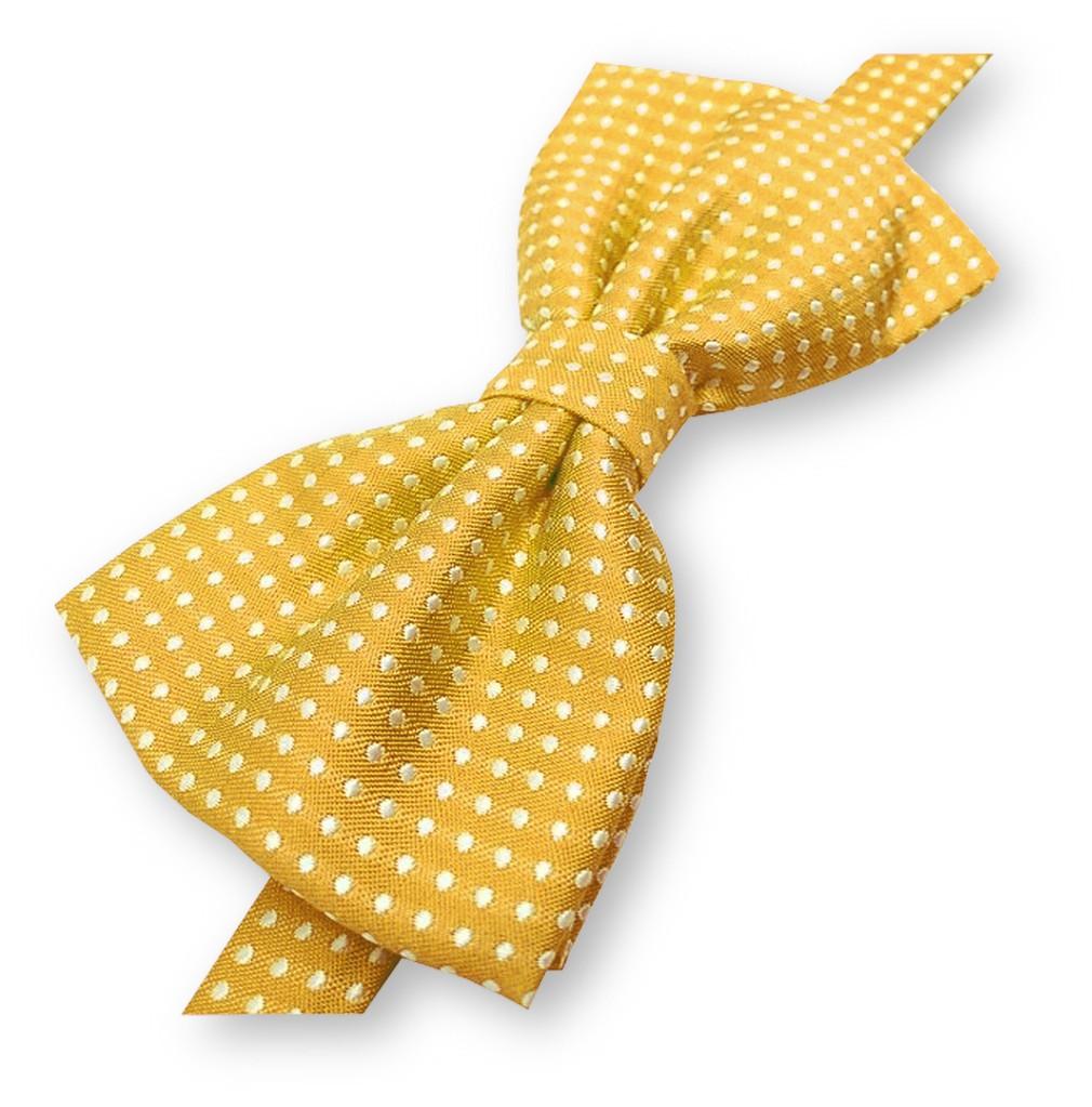 """Comment Faire Du Jaune Moutarde noeud-papillon noué """"jaune-moutarde"""", finitions main - label-cravate"""