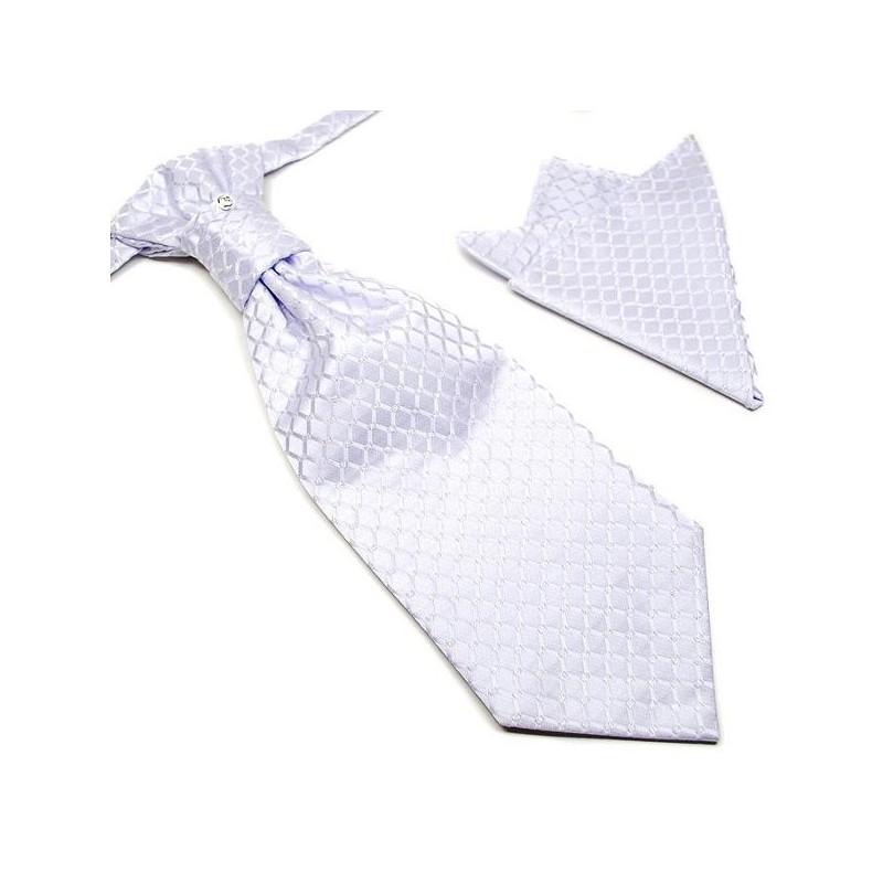 cravate lavalli re couleur parme clair pochette label cravate. Black Bedroom Furniture Sets. Home Design Ideas