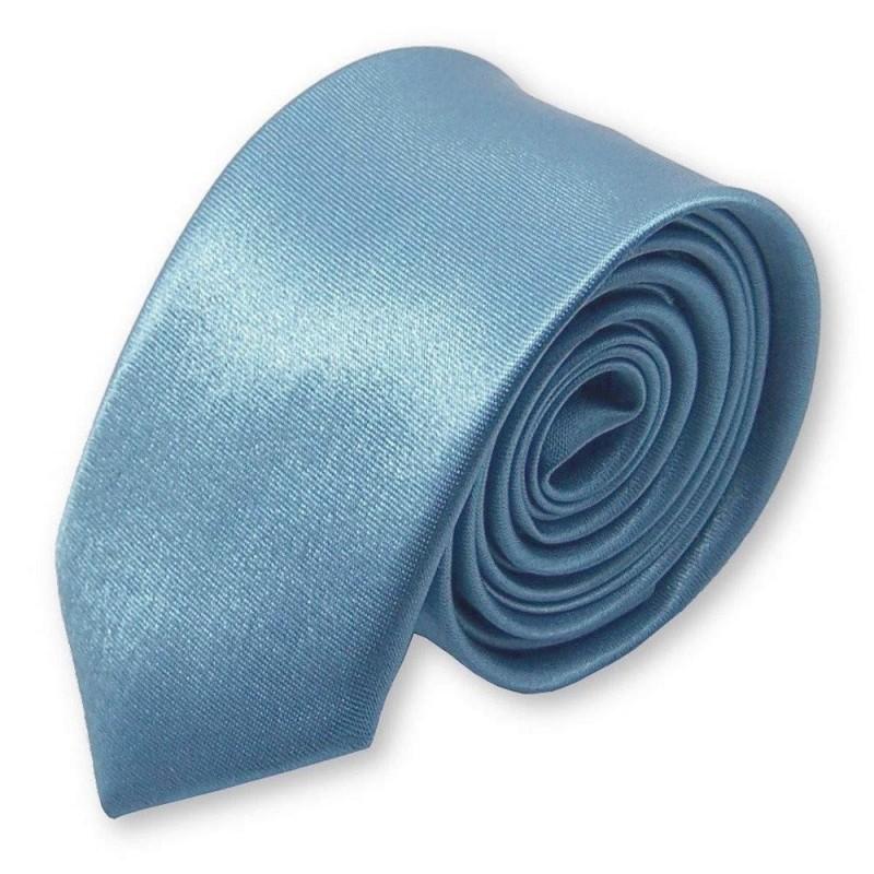 cravate slim bleu-ciel
