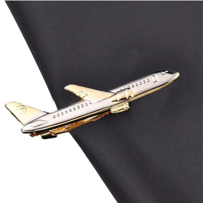 """Pince de cravate """"avion"""""""
