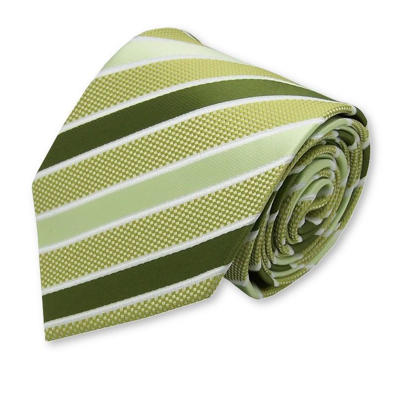 cravate écossaise verte