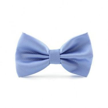 Noeud papillon bleu-ciel