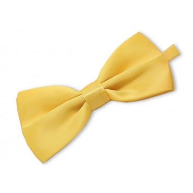 noeud-papillon jaune pastel