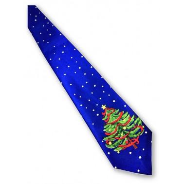 cravate le sapin de Noël