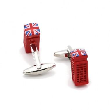 boutons de manchette boîtes aux lettres anglaise