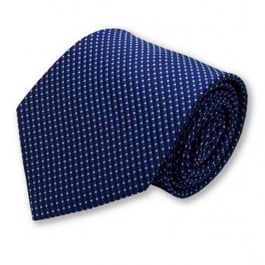 Cravate bleu-nuit et bleu-clair