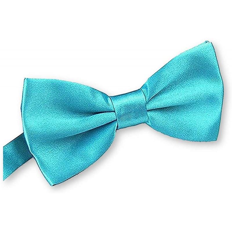 noeud papillon bleu turquoise