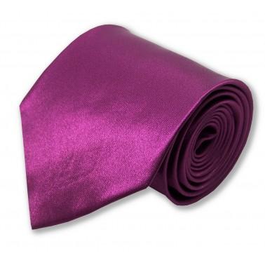 Cravate rose-magenta
