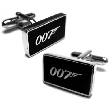"Boutons de manchette ""James Bond"""
